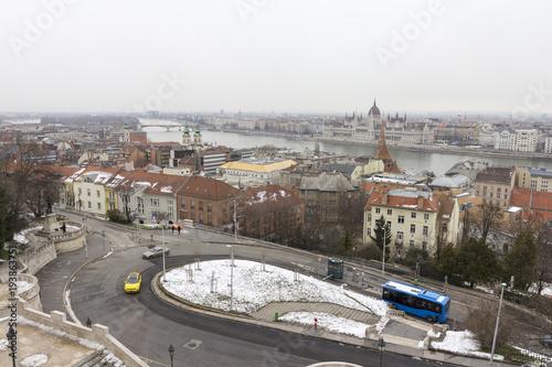 Fotobehang Boedapest Budapest cityscape