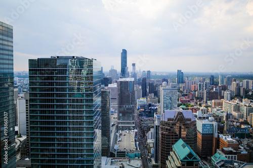 Foto op Aluminium New York Financial District Aerial, Toronto