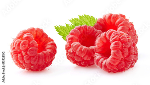 Raspberry in closeup - 193923190
