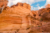 the siq canyon. Petra, Jordan country - 193943352