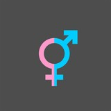 Gender flat vector icon - 193963908