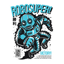 Robosuper Sticker