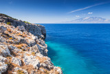 Coastal landscape with coastal rocks, Greece - 193993123