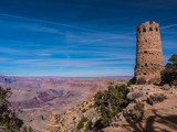 Desert View Watchtower, Ancient Ruins & Colorado River, Grand Canyon - 193997918