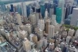 Ariel view on Manhattan.New York.USA.Beautiful background.