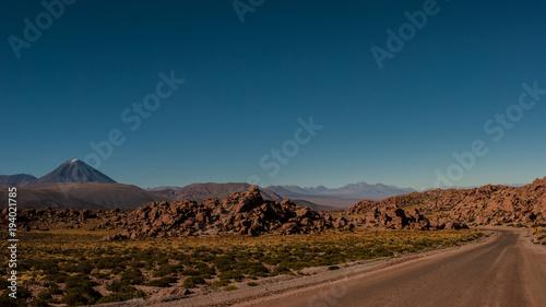 Foto op Canvas Diepbruine San Pedro de Atacama