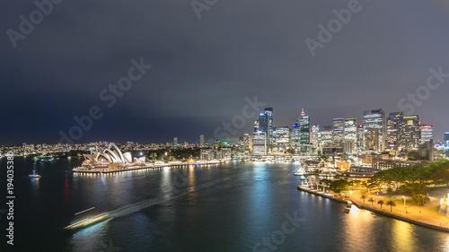 Sydney Sydney. Panoramic image of Sydney, Australia