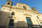 Church in Corleone in Sicily, Italy