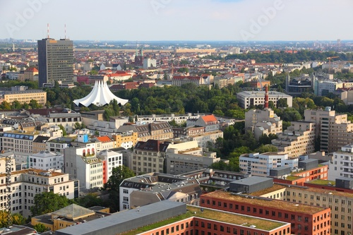 Fotobehang Berlijn Kreuzberg district, Berlin