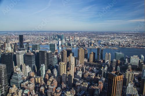 Foto op Aluminium New York New York Skyline Views