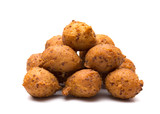 Hushpuppies, an Classic Souther Side of Fried Cornbread Balls - 194061547