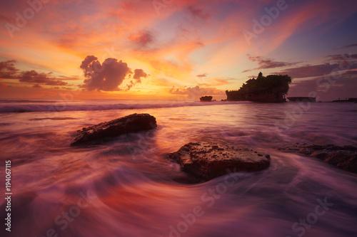 Fotobehang Bali Bali, Tanah Lot, Indonésie