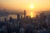 Hong Kong lever du soleil