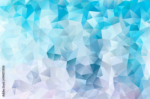 vector multicolored abstract background of effect geometric triangles © dashtik