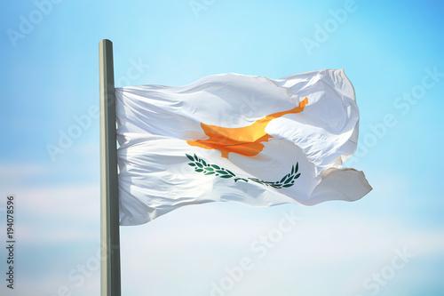 Fotobehang Cyprus Cyprian flag