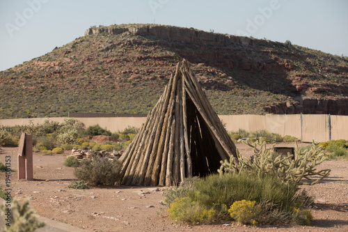 Fotobehang Zalm Tipi,teepee,American,American native,Native Indians,Traditional,Home,Old Home,Indian's Home,Native Indian's home,Ancient,Ancient Indian's home,American Indian's home,traditional,traditional,Arizona,