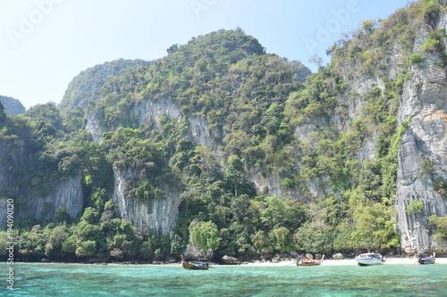 Deurstickers Tropical strand koh phi phi thailande