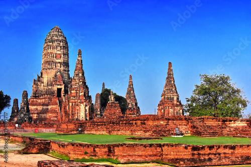 Aluminium Thailand Wat Chaiwatthanaram, a Buddhist temple in Ayutthaya, Thailand