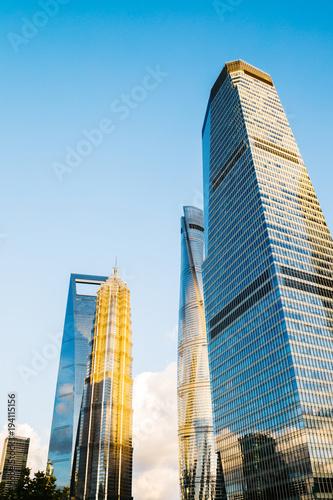 Aluminium Shanghai Shanghai modern buildings and city view in China