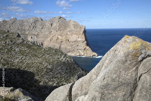 Foto op Plexiglas Donkergrijs Landscape on Formentor; Majorca