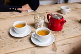 table set for tea - 194143712