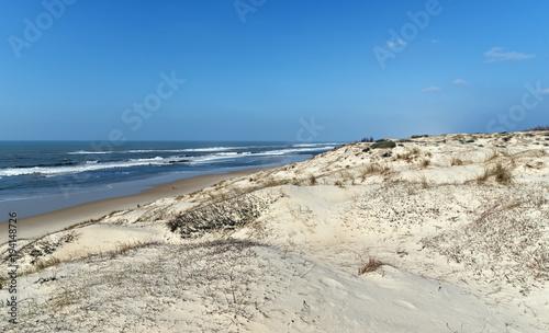 In de dag Beige dunes et Plage du Cap Ferret