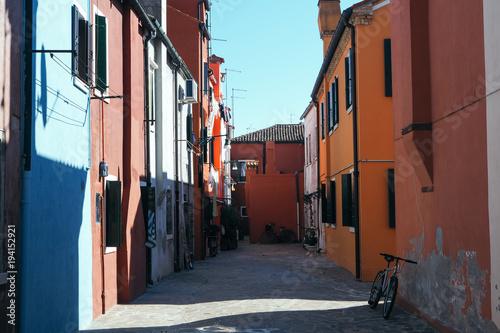 Fotobehang Smalle straatjes OLYMPUS DIGITAL CAMERA