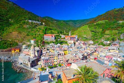 Keuken foto achterwand Liguria Vernazza, Cinque Terre, Italien