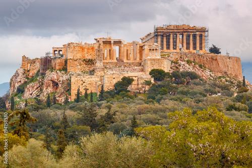 Tuinposter Athene Athens. The Parthenon on the Acropolis.