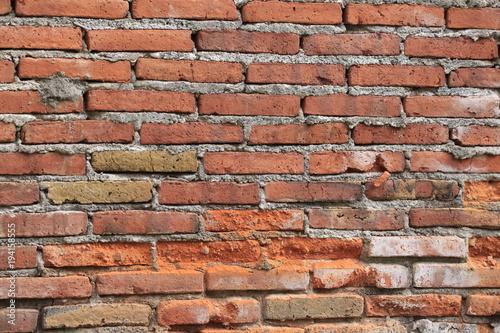 Tuinposter Baksteen muur Ziegelmauer, Textur