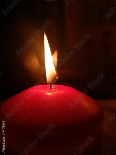 Fotobehang Vuur / Vlam Kerzenlicht