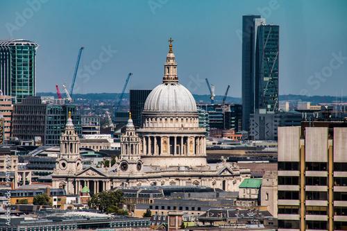 Papiers peints London London, England Sehenswürdigkeiten der Stadt bei sonnigem Wetter Panorama