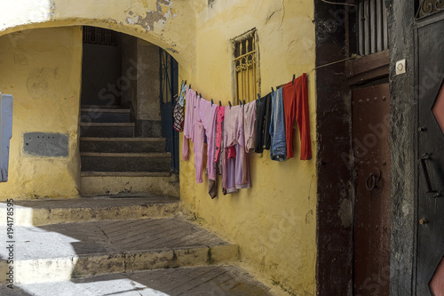 Papiers peints Maroc Streets, corners, details and corners of Tanger