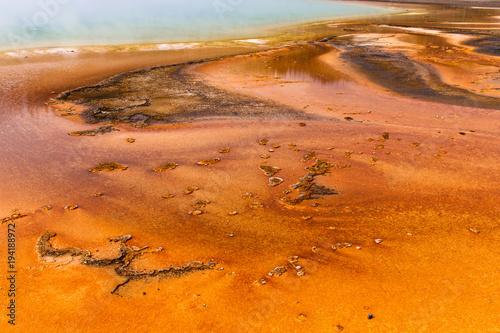 Foto op Canvas Oranje eclat Grand Prismatic Spring 5