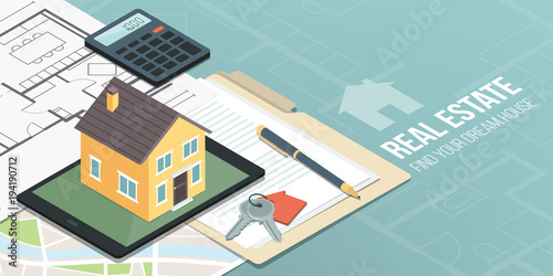 Real estate and home insurance