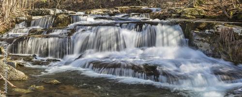 Stony Creek Clove Falls Wide View - 194216352