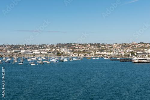 Aluminium Zeilen San Diego Bay sailboats