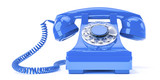 old blue phone - 194236196