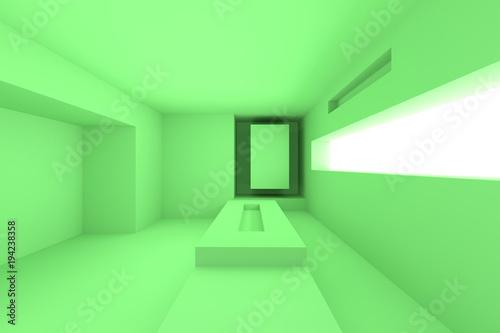 Leinwandbild Motiv Abstract Architecture