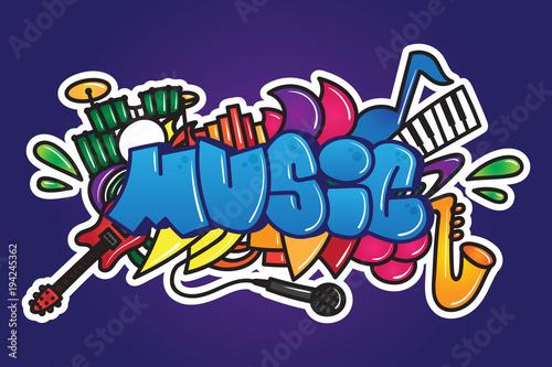 Graffiti. Słowo muzyczne