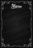 Menu de restaurant ou mariage sur tableau noir - ardoise - 194252973