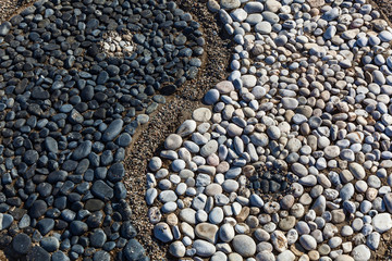 Yin and yang of stones