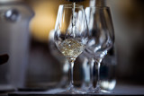 White Wine Glass - Close Up Scene - 194282346
