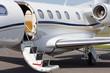 VIP business jet plane