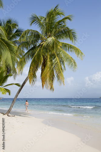 Fotobehang Tropical strand Beach in San Blas Islands, Panama