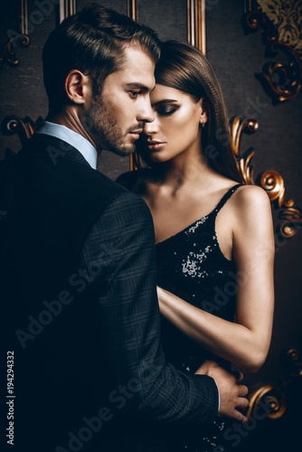 sexual couple in love