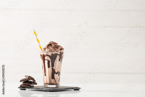 Chocolate Milk and Whipped Cream