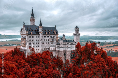 Tuinposter Praag castle