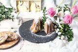 Fototapeta Tulips - babka piaskowa © Agata