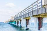 Seebrücke Heiligendamm im Winter